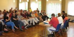 Full House in Darmstadt - viele Fragen zur Überwachung