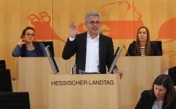 Im Hessischen Landtag