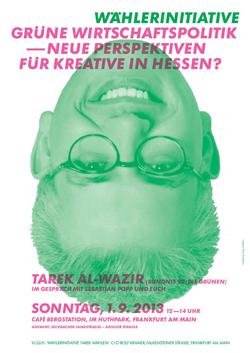 Tarek für die Kreativwirtschaft