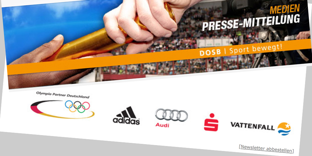 DOSB Presse-Newsletter