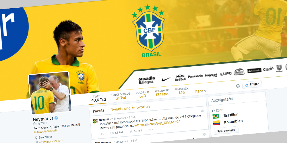Screenshot: @neymarjr