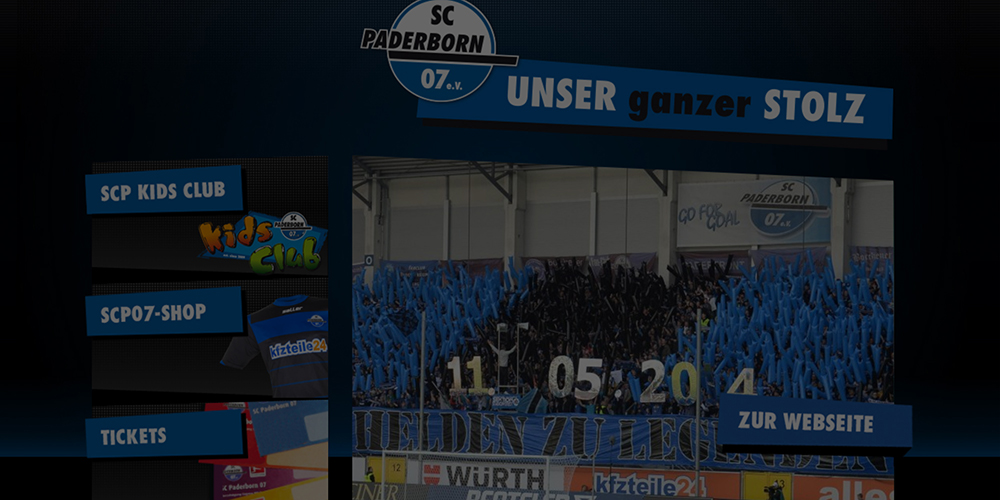 Screenshot: SC Paderborn