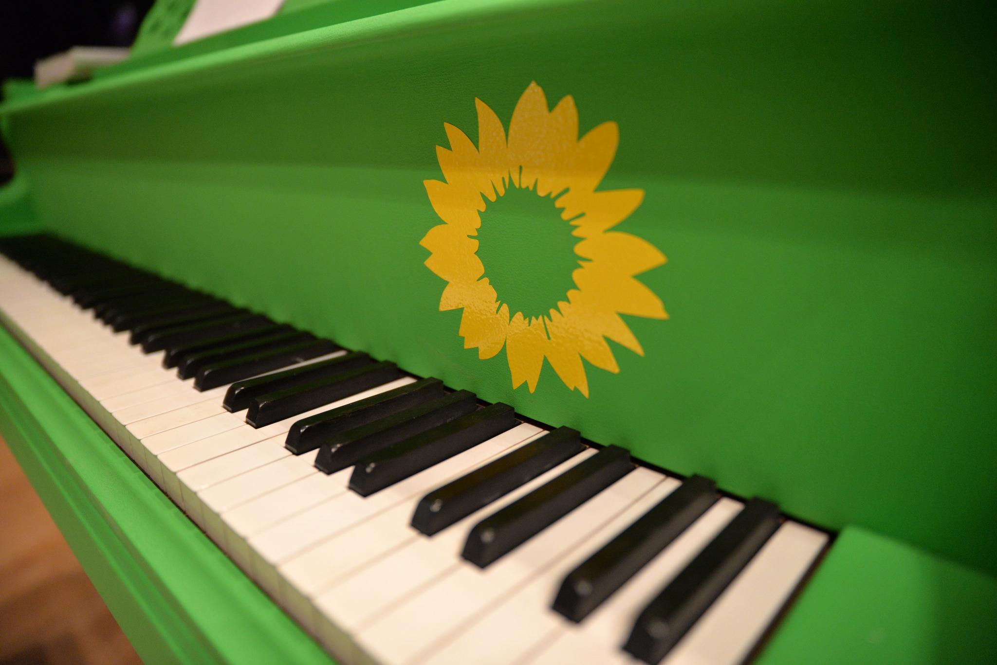 Bei den Grünen muss die Musik wieder spielen.  - Bild: GRÜNE NRW